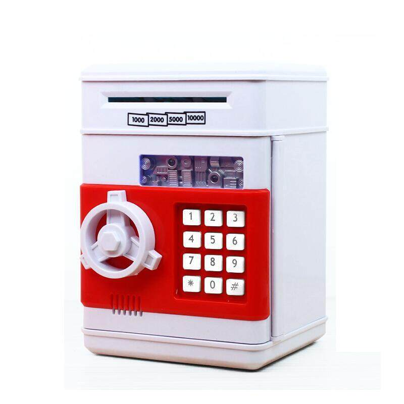 Electronic Piggy Bank Password Safe Money Box Cash Large Atm Saving Money Box By The First Store.