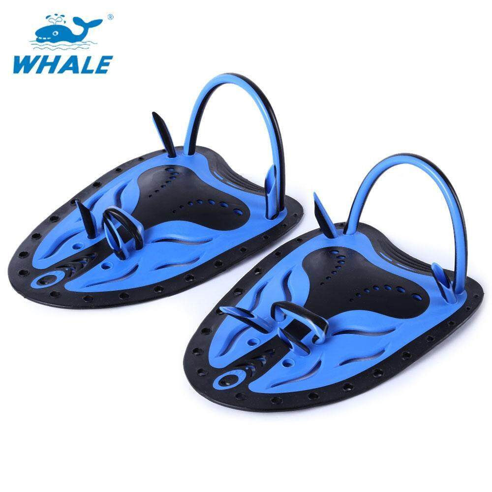 Whale Paired Men Women Adjustable Swimming Hand Paddles Fins Flippers Webbed Training Diving Gloves(S