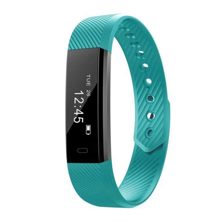 WOND ID115 Bluetooth Smart Bracelet Heart Rate Monitor Fitness Tracker Step Counter - intl