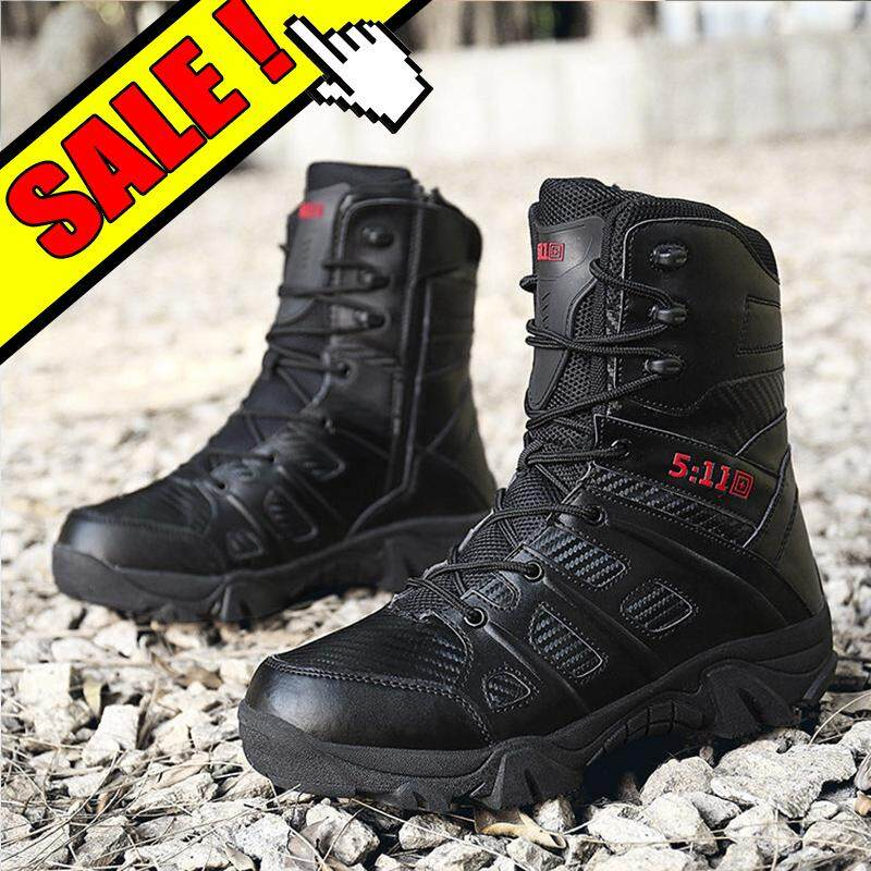 baec85bd0c8d YEALON Men Tactical Boots Outdoor Military Boots For Men Tactical Shoes  Summer Hiking Shoes Men Special Forces Desert Tactical Boots