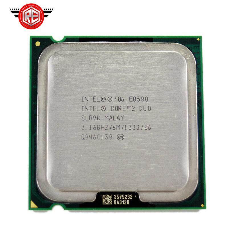 Intel Core 2 Duo E8500 Prosesor Dual-Core 3.16 GHz Fsb1333mhz Socket 775 CPU