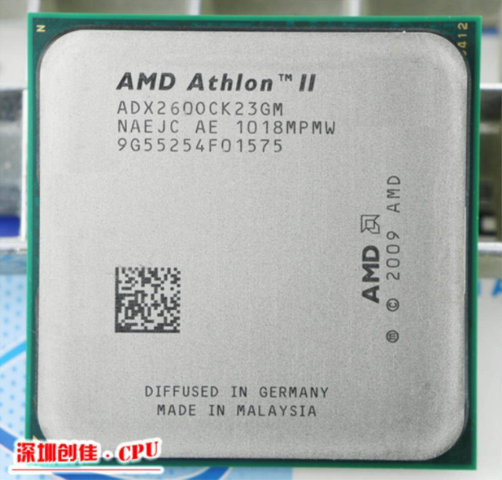 Untuk AMD Athlon II X2 260 3.6 GHz Am3 938-Pin Prosesor 65 W Dual-Core 2 M cache 45nm Cpu Desktop Scrattered Potongan