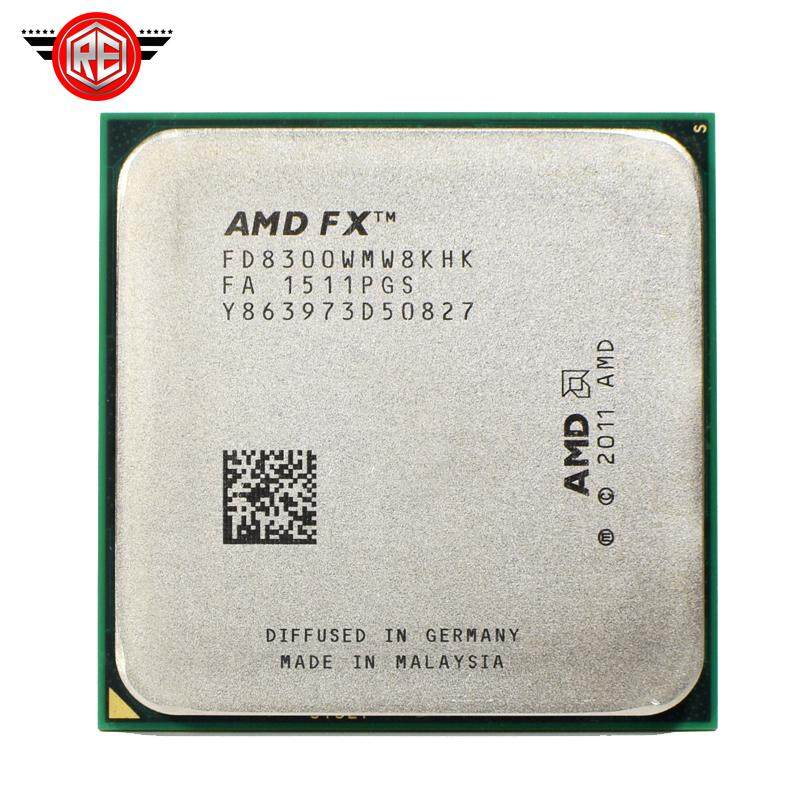 AMD FX 8300 3.3 GHz 8-Core 8 M Prosesor Socket Am3 + CPU 95 W Paket Massal Fx-8300