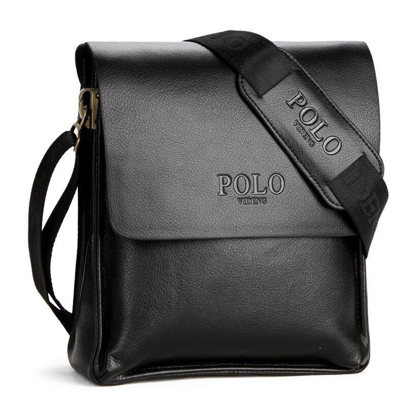 6dd00271c3e9 Videng Polo Famous Brand Leather Men Bag Casual Business Messenger Bag For  Vintage Men S Crossbody