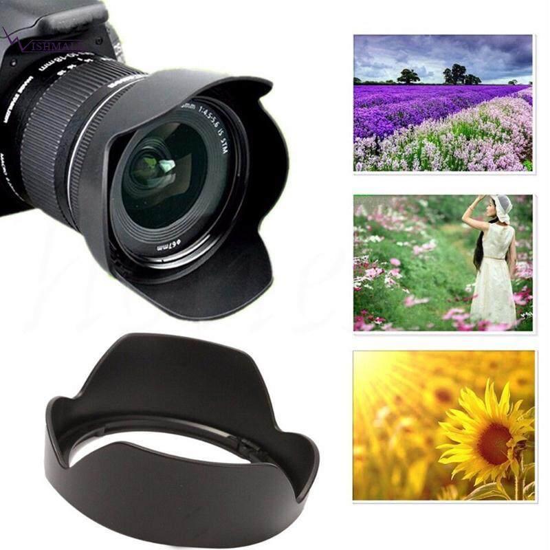Wishmall Canon EW63C Canon EF-S 18-55mm F Photo Lens Shade Len Cover