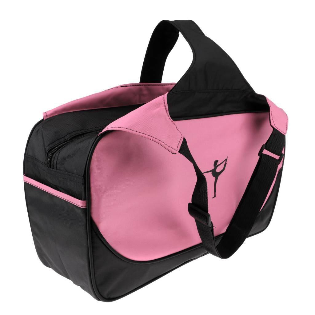 Miracle Shining Yoga Mat Shoulder Pack Pilates Pad Bags Carry Storage Bag Light Pink
