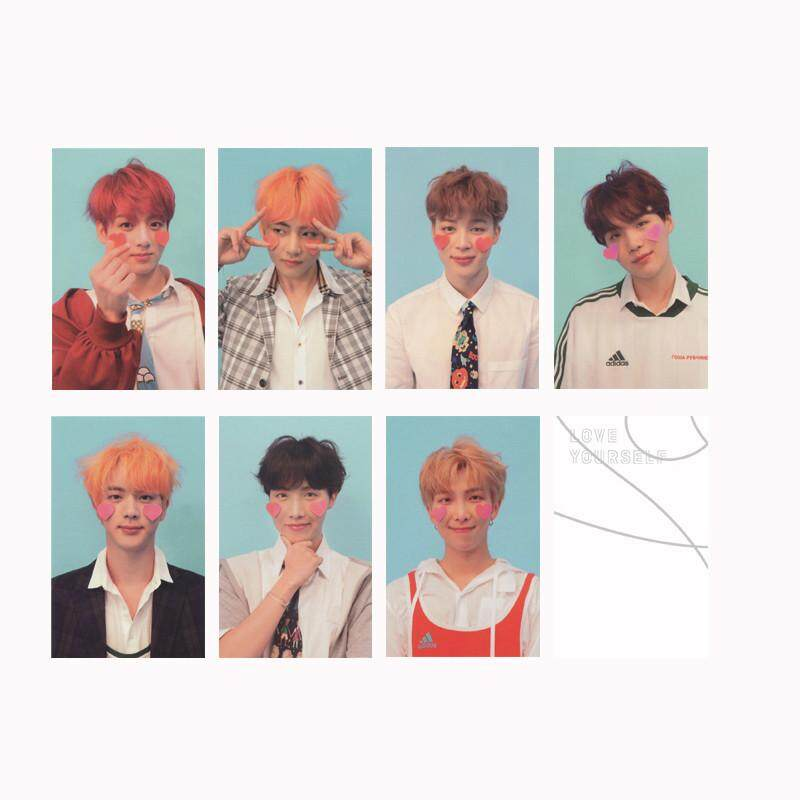 ... LOMO Cards NewFashion Self Made Paper Photo. Source · KPOP BTS Bangtan Boys LOVE YOURSELF Answer Album Photo Card JUNGKOOK SUGA V Hip Hop Self