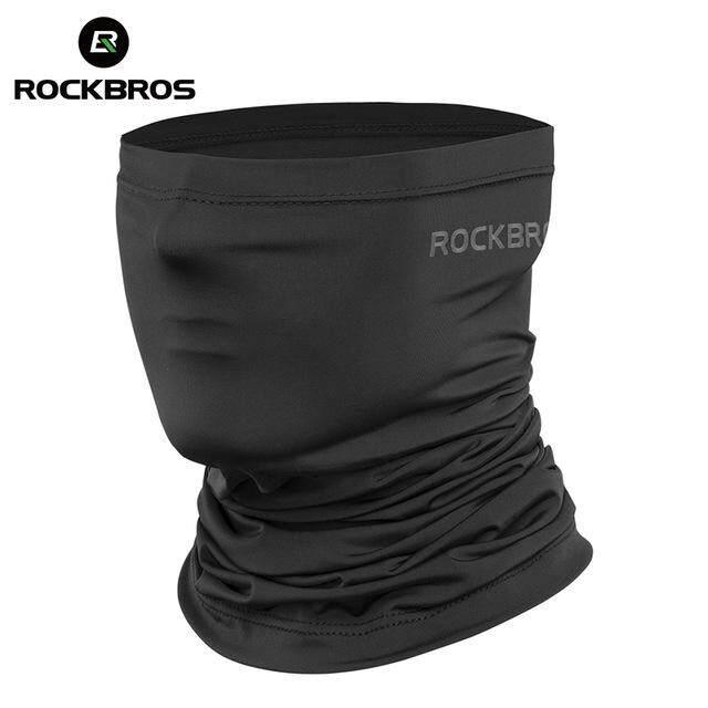 ROCKBROS WB-001 Sunscreen Cycling Face Mask UV400 Absorb Sweat Breathable Bandana Hiking Half Face