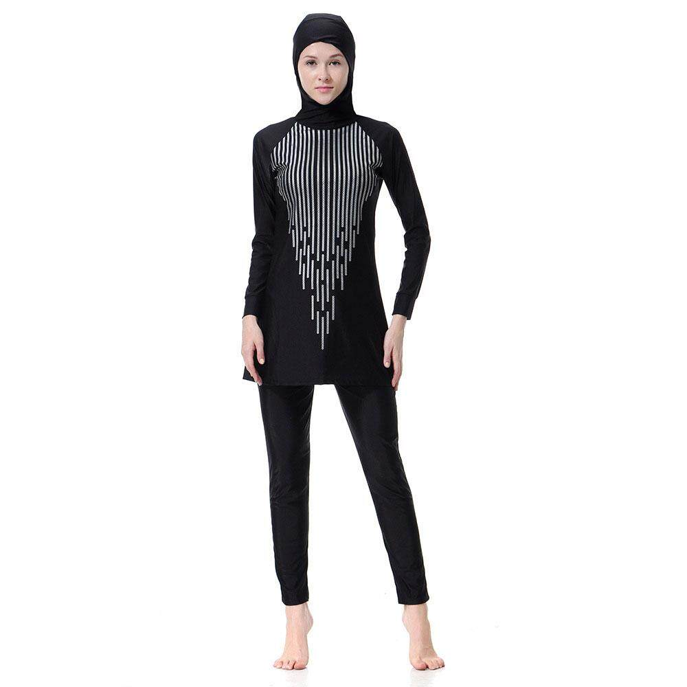 9b3b1cd6677 High Quality Muslim Women Swimwear, Islamic Swimsuit for Women Hijab  Swimwear Full Coverage Conservative Swimwear Muslim Beachwear Swim Suit,  Pakaian Renang ...