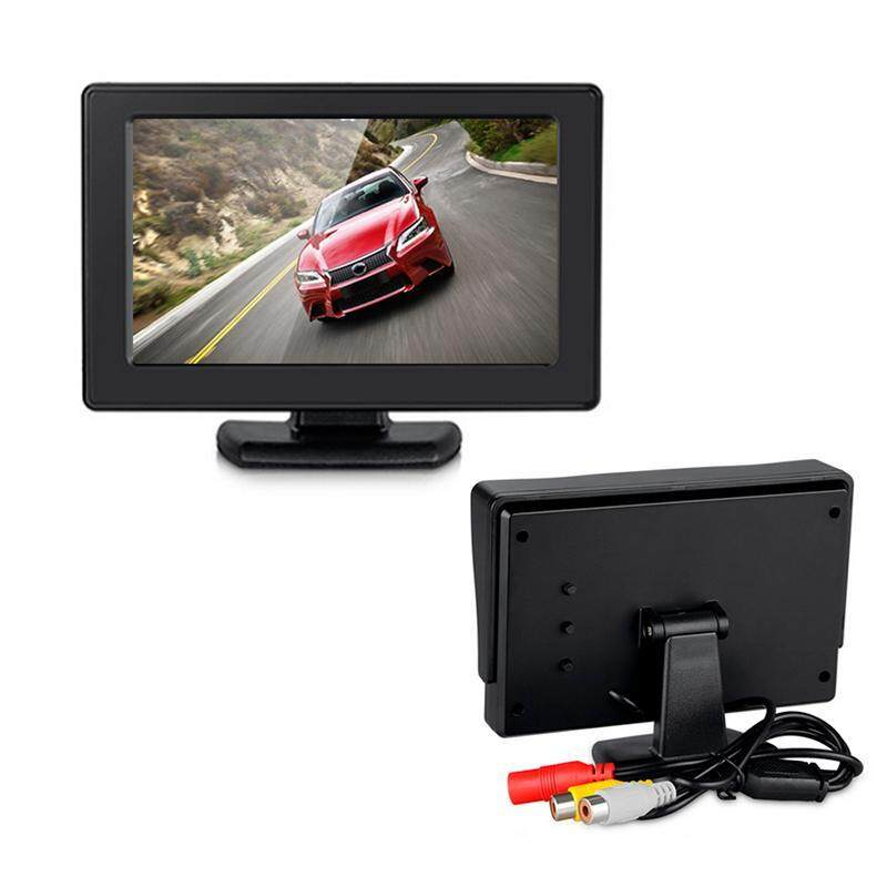 Sway For DVD VCD Security Monitor 4.3 Inch Color TFT LCD Monitor High Resolution 2 Channel