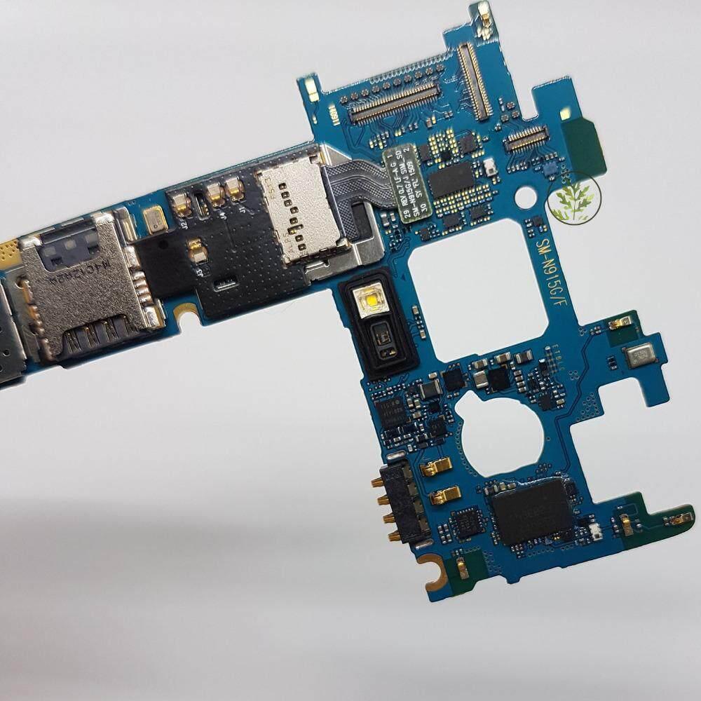 Binyeae Dibuka Asli N915fy Utama Papan Utama Bersih IMEI 32 GB Papan Pengganti untuk Samsung Galaxy Note Edge N915fy N915f