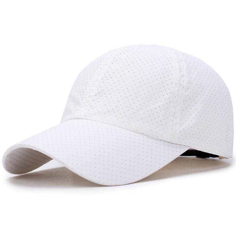 c2d73c767 Men's Summer Adjustable Breathable Mesh Hat Quick Dry Cap Outdoor Sports  Climbing Baseball Cap