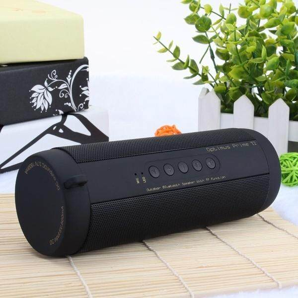 Professional IPX7 Waterproof Outdoor HIFI Column Speaker Wireless Bluetooth Speaker Subwoofer Sound Box with Flashlight Support FM Radio TF Mp3 Player ...