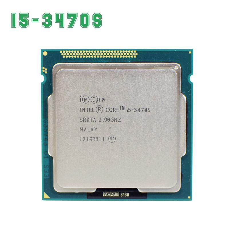 Intel Core I5 3470 S 2.9 GHz 5gt/S 4x256kb L2/6 MB L3 Socket 1155 Quad- core CPU