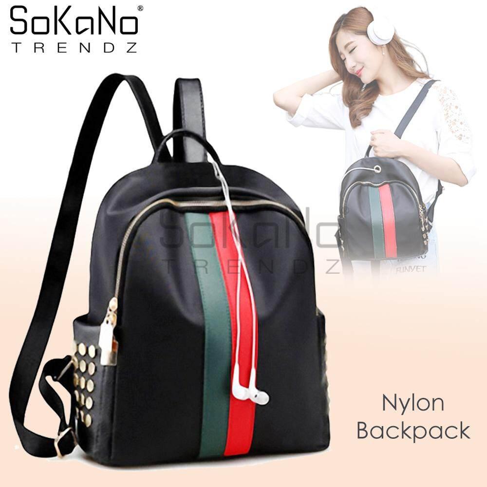 ... Woman Drawstring Bucket Bag - Rip Curl PU. Source · SoKaNo Trendz  Korean Style SKN766 Nylon Backpack With Rivet Design Handbeg Wanita 72897f7dac