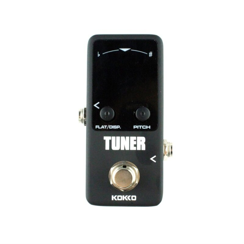 Allwin Pedal Tuner Guitar Bass Violin Stringed Instruments Tuner Effect Device - intl