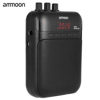 ammoon AMP -01 5W Guitar Amp Recorder Speaker TF Card Slot CompactPortable Multifunction