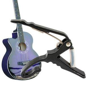 Classic Guitar Quick Change Clamp Key Black Guitar Capo ForAcoustic Electric