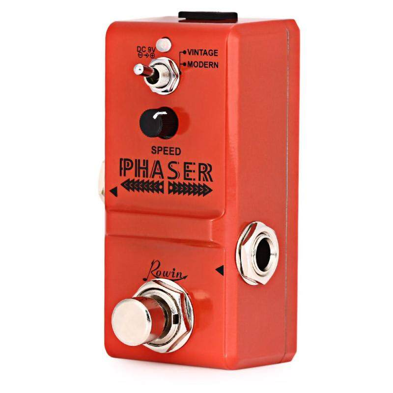 ROWIN LN - 313 Analog Phaser Guitar Effect Pedal True By Pass for Musical Instrument - intl