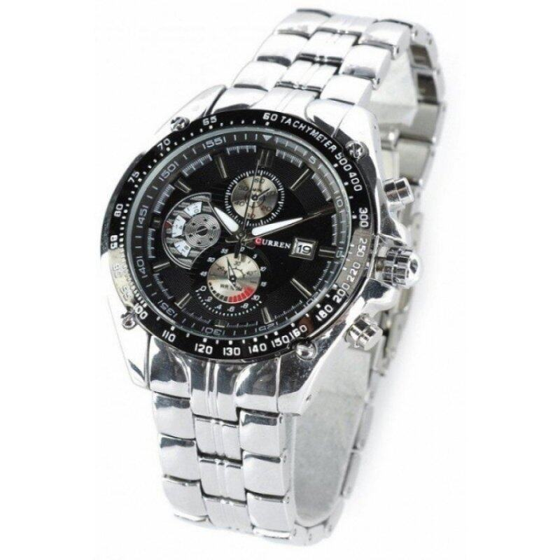 (100% Authentic) Curren  8083 Stainless Steel Strap Watch (Japan Movement 7T35) Malaysia