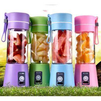 380ml USB Electric Fruit Juicer Handheld Smoothie Maker BlenderJuice Cup