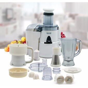 Alpha Living Multifunction Food Processor, Blender, Chopper, Whisk, Slicer, Meat Grinder, Soy Milk