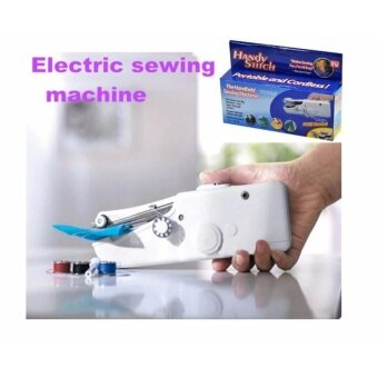 AS Seen On TV Mini electric Sewing Machine Multi-FunctionalHandheld Sewing Clothes /Dress Handy Stitch Household ItemsQuilting Tools