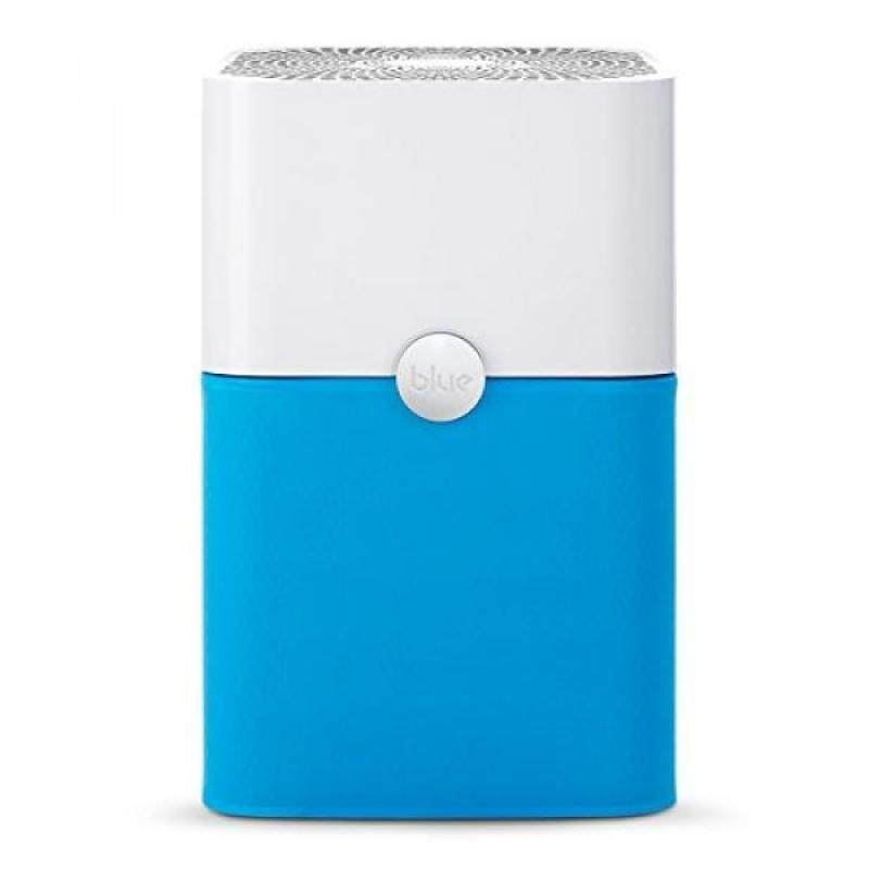 Blue Pure 211+ Air Purifier with Particle and Carbon Filter for Allergen and Odor Reduction, Washable Pre-Filter, Large Rooms, by Blueair - intl Singapore