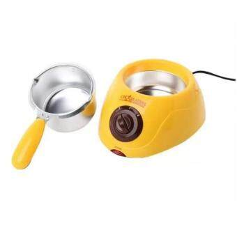 Chocolate Melting Pot Fondue Machine & Decorating Kit Set(Yellow)
