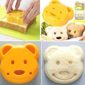 Cute Bear Rabbit Car Sandwich Cookie Pastry Maker Bread Mould Stamp Cutter