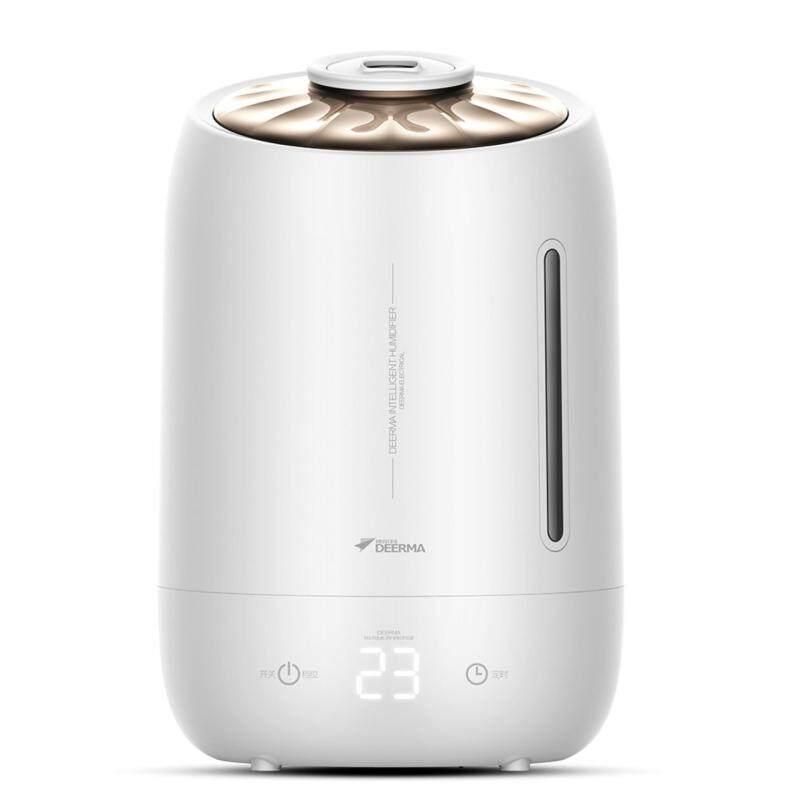 Deerma Ultrasonic Air Humidifier 5L Large Capacity Mist Aroma diffuser - intl Singapore