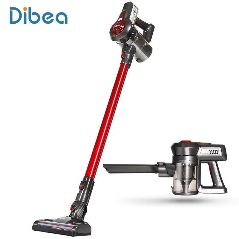 Dibea C17 Wireless Upright Vacuum Cleaner US Plug (Red) - intl Singapore