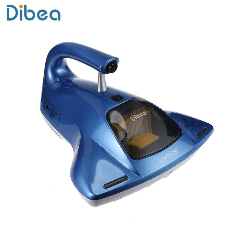 Dibea UV - 808 Handheld Ultraviolet Light Dust Mites Vacuum Cleaner (Blue) - intl Singapore