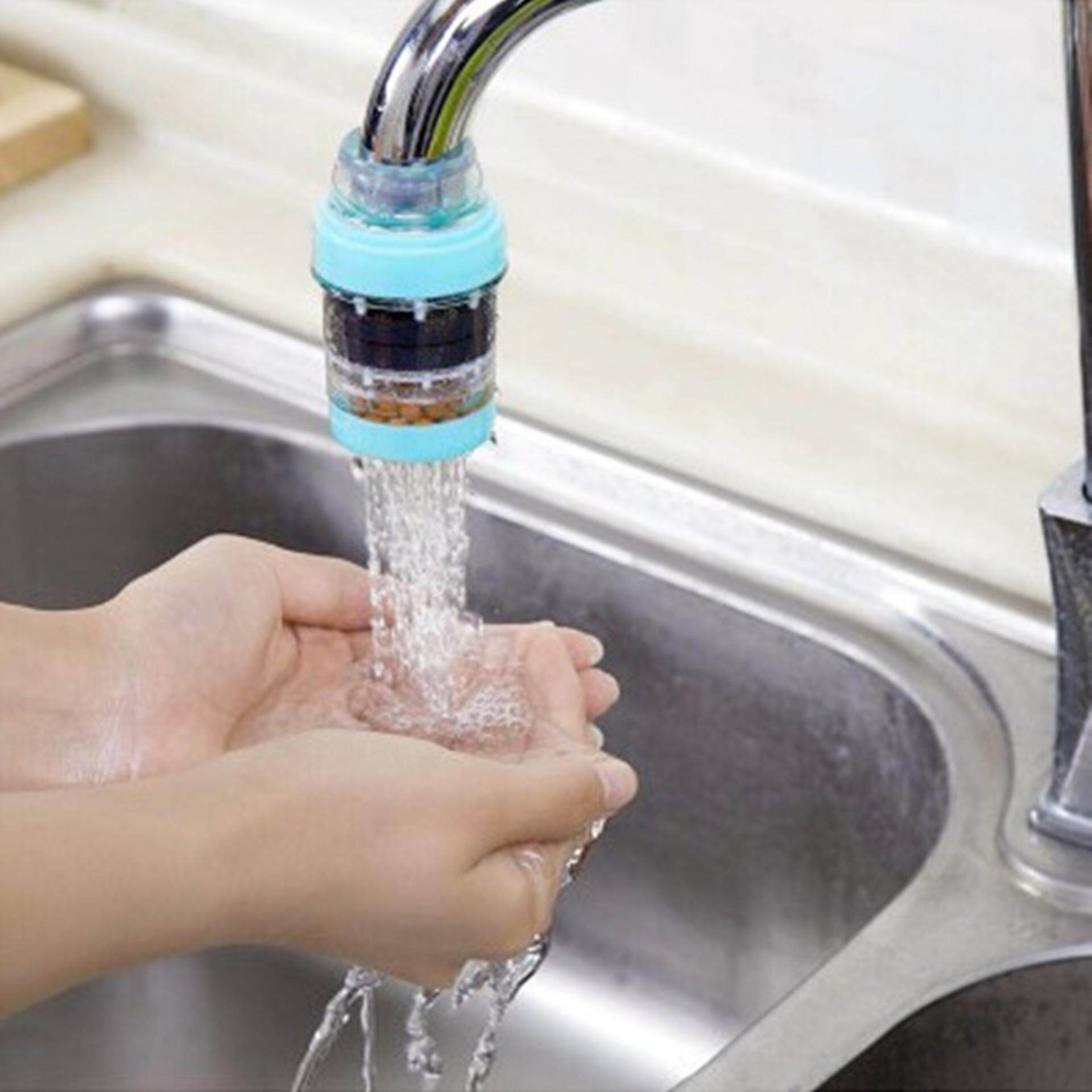 Kitchen Water Filter Faucet Durable Home Tap Water Purifier Kitchen Faucet Water Filter Blue