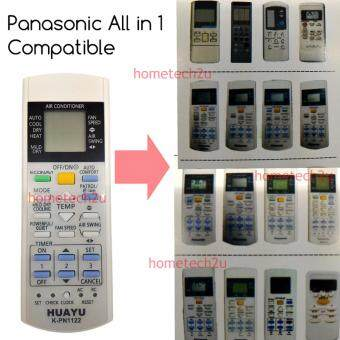 Huayu K-PN1122 All In 1 Panasonic Air Conditioner Remote ControlReplacement