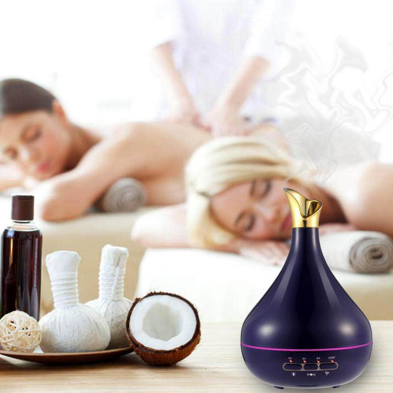 leegoal Diffuser For Essential Oil,Aromatherapy Essential Oil Diffuser,4 Timer Settings 7 Color Changing And Waterless Auto Shut-off Humidifiers Cool Mist Humidifier For Bedroom Home Office Baby Room Yoga Spa(US) - intl Singapore