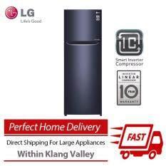 lg gnc372sqcn inverter compressor top freezer fridge 333l direct shipping u0026 free in