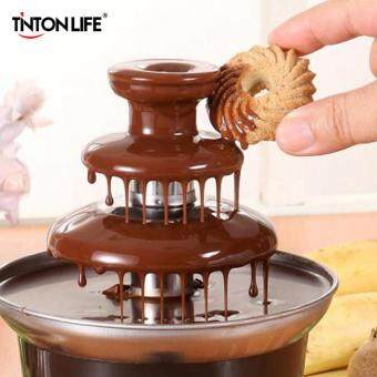 Mini Chocolate Fountain Fondue With Heating Function For Home andFunction Use