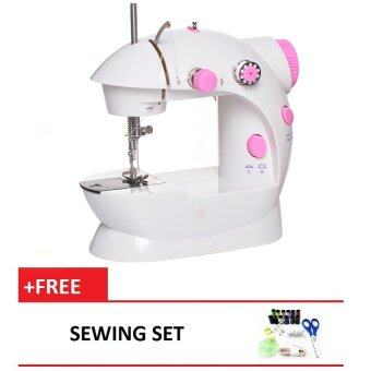 how to put thread on mini sewing machine