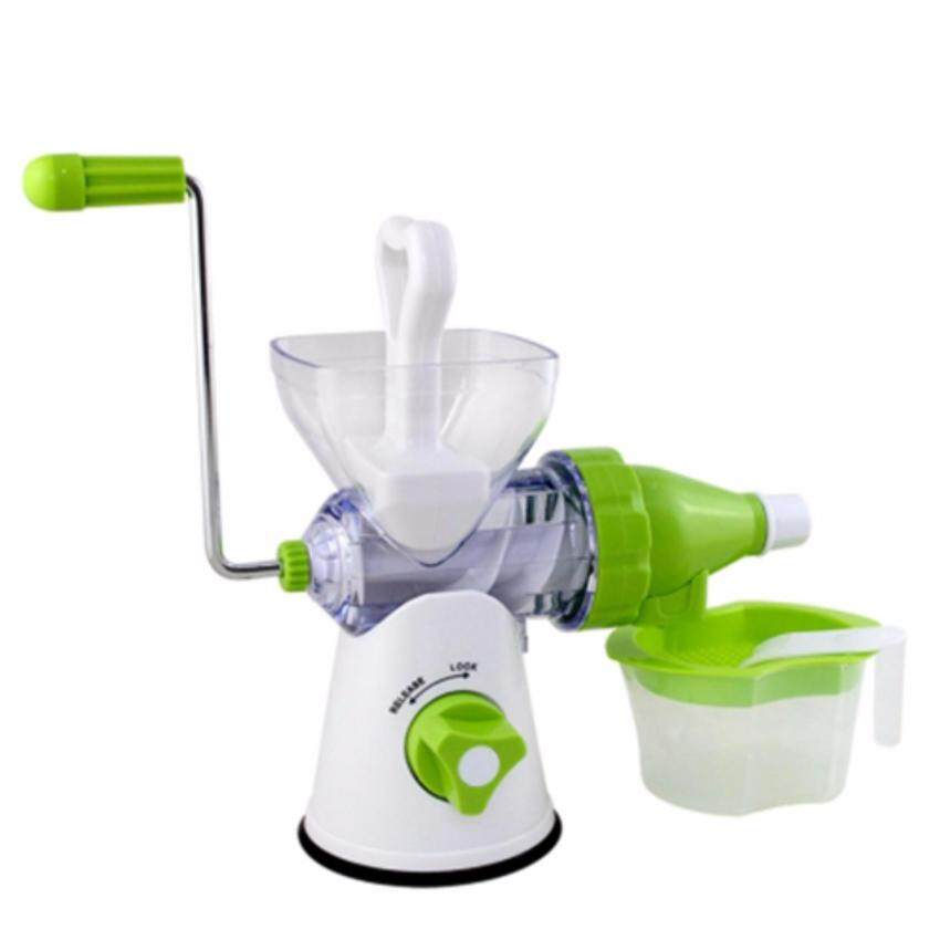 Juice Wizard Slow Juicer : Manual Juicer Blender Juice Wizard Squeezer Machine - Green Lazada Malaysia