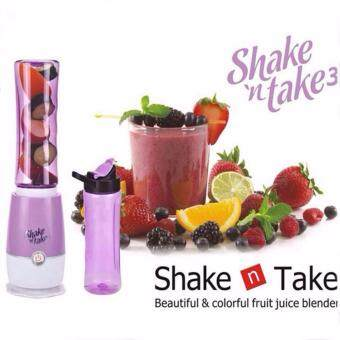 New and Trendy Electric (Shake N Take) Juice Blender and Mixer cum with Drink Bottle Smoothie Fruit Maker