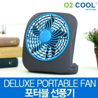 o2cool fd05011b battery operated portable table fan grey