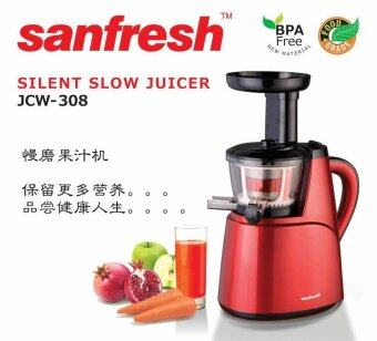 Sanfresh JCW-308 Healthy Living Slow Juicer Stainless Steel Juice Extractor (Warranty 1 to 1 ...
