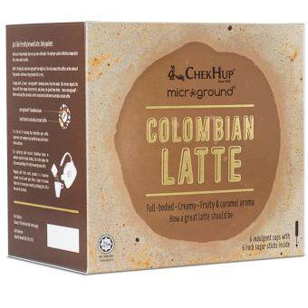 Chek Hup Microground Colombian Latte 28g x 6s