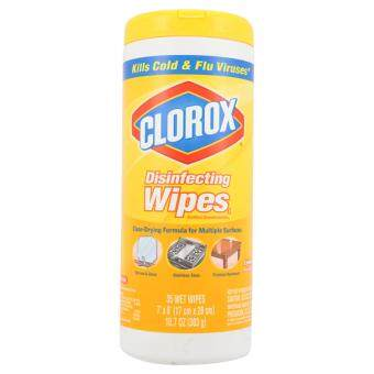 Clorox Lemon Fresh Disinfecting Wipes 35 Wet Wipes 303g
