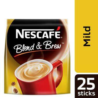 NESCAFE Blend and Brew Mild 25 Sticks, 20g Each (SPECIAL OFFER)