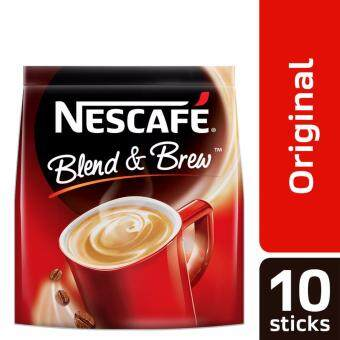 NESCAFE Blend and Brew Original 10 Sticks, 20g Each