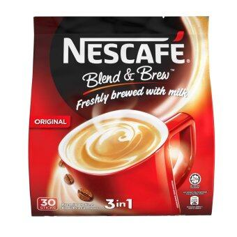 NESCAFE Blend & Brew Original, Premix Coffee, 20g x 30 sticks (EM)