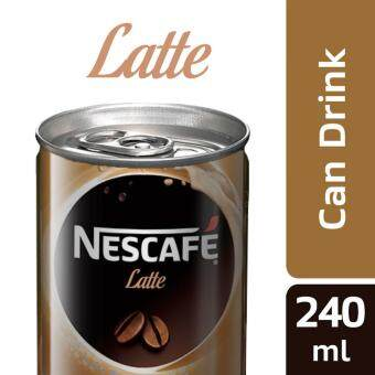 NESCAFE Latte 6 Cans, 240ml Per Can
