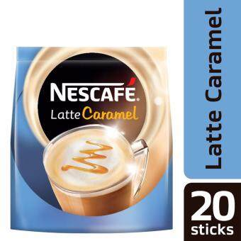 NESCAFE Latte Caramel 20 Sticks, 25g Each (SPECIAL OFFER)